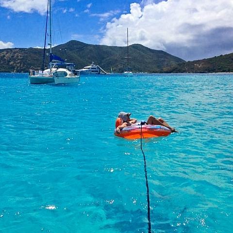 Boating excursion BVI.