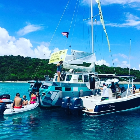 Private St John boat charters USVI BVI Christmas Cove