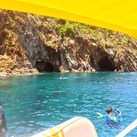 Private St John boat charters USVI BVI snorkeling