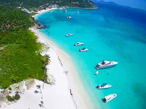 Private St John boat charters USVI BVI white bay
