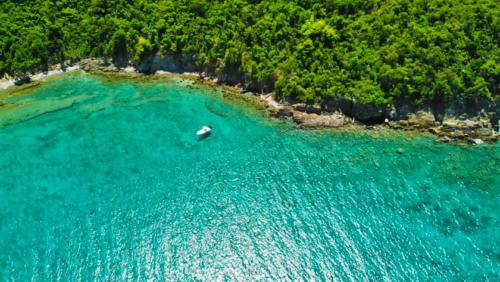 boat aerial St-John-US-Virgin-Islands-Rocknrolla-St-John-USVI-BVI-boat-charters.